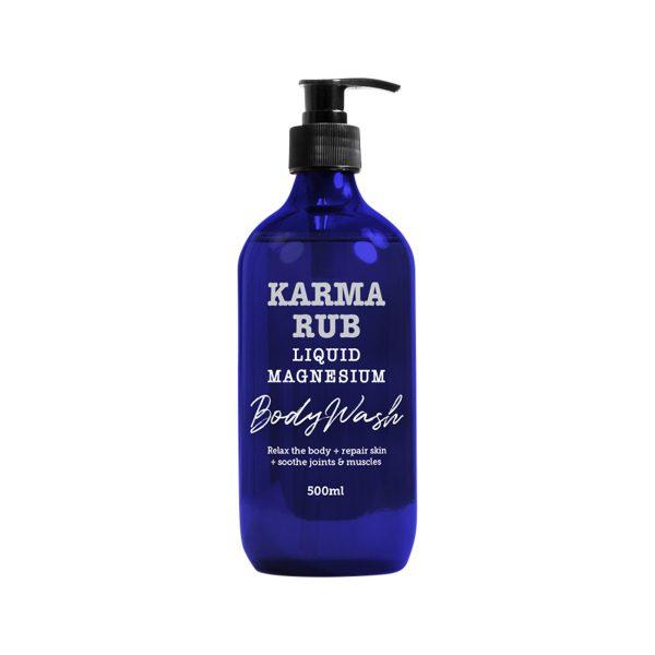 Karma Rub Liquid Magnesium Body Wash 500ml