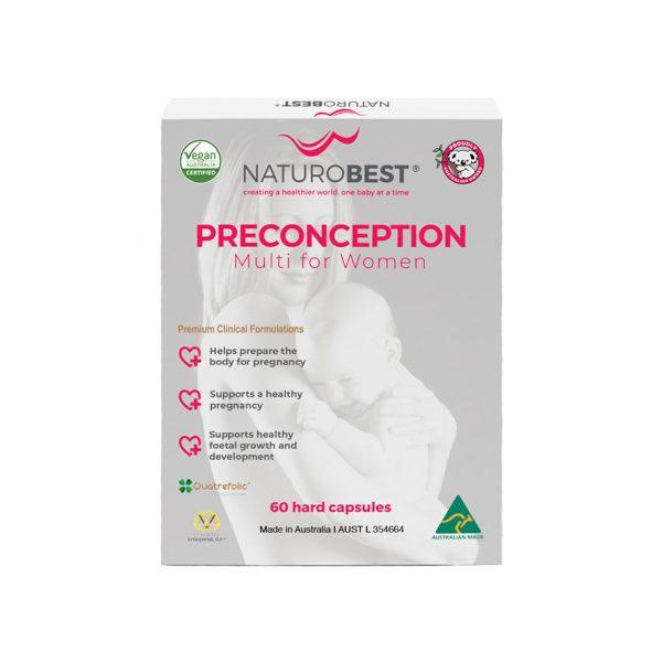 NaturoBest Preconception Multi for Women 60c