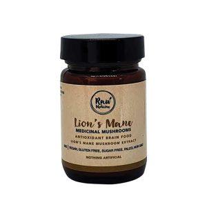 raw medicine lion's mane
