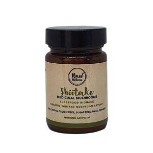 raw medicine shiitake