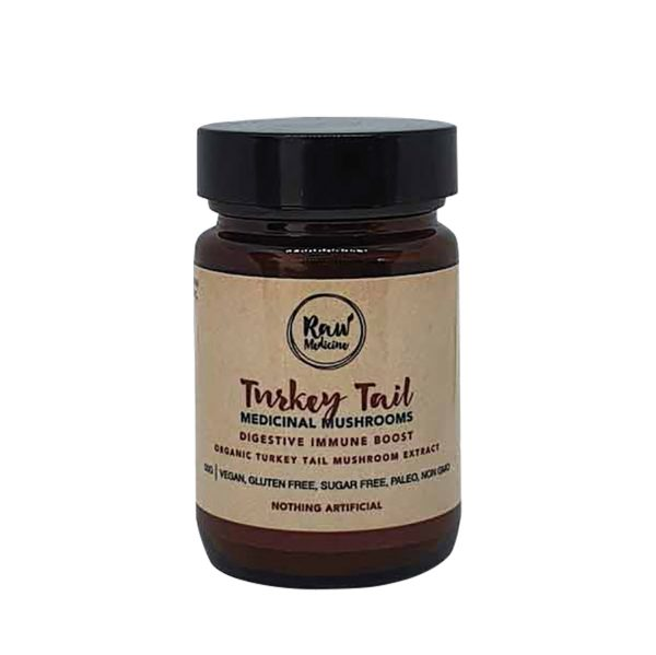 raw medicine turkey tail