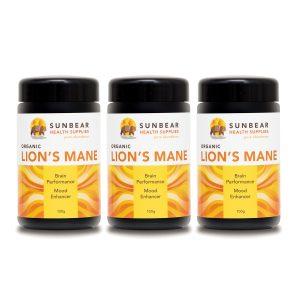 organic lion's mane