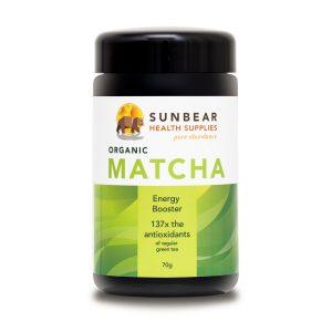 Sunbear Premium Organic Matcha
